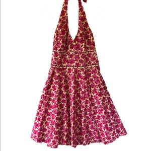 Lilly Pulitzer Willa Class Act Pink Floral Dress 8